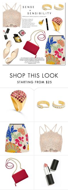 """""""Sense and Sensibility!"""" by blossom-jewels ❤ liked on Polyvore featuring Victoria, Victoria Beckham, River Island, TravelSmith, Garance Doré, Sigma Beauty and Maryam Keyhani"""
