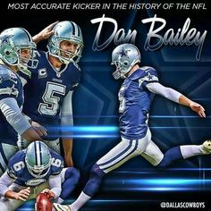 4b1fcf6a057 Dan Bailey Cowboys, Dallas Cowboys Funny, Dallas Football, Cowboys 4, Dallas  Cowboys