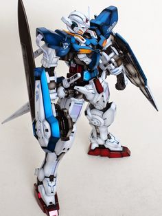 GUNDAM GUY: 1/60 Gundam Exia - Painted Build