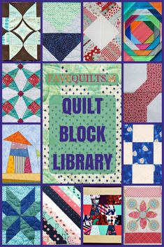 NEW! This Quilt Block Library has all your favorite blocks and those you haven't tried yet. Check it out!
