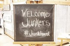Welcome sign at The Great Junk Hunt Vintage Market. One of America's TOP 15 markets! Steam Clean Carpet, How To Clean Carpet, Rocking Chairs For Sale, Affordable Carpet, Puyallup Wa, Drawers For Sale, Commercial Carpet Cleaning, Flea Market Decorating, Duct Cleaning