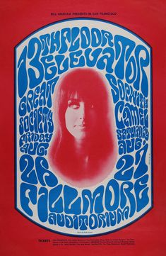 Concert at the Fillmore Auditorium (13th Floor Elevators; Great Society; Sopwith Camel)