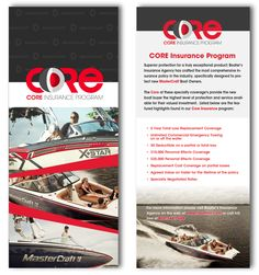 Evoke Graffix - Core Insurance Brochure Design
