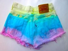 Diy clothes for summer shorts tie dye trendy Ideas Diy Shorts, Tie Dye Shorts, Gym Shorts Womens, Diy Fashion, Ideias Fashion, Bold Fashion, Unique Fashion, Teen Fashion, Summer Outfits