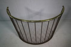 Quality Regency Antique Curved Fire Guard