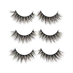 5429abf985b 3D False Eyelashes Long Thick Dramatic Look Handmade Fake Eye Lashes Makeup  Extension 3 Pair Pack
