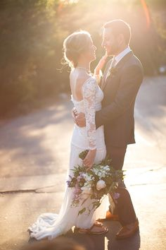 Natural lighting for wedding photography