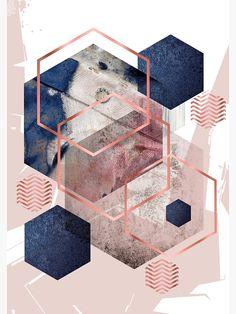Flower Phone Wallpaper, Iphone Background Wallpaper, Aesthetic Iphone Wallpaper, Graphic Wallpaper, Geometric Wallpaper, Geometric Art, Blue And Pink Bedroom, Cute Patterns Wallpaper, Pretty Wallpapers