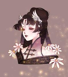 Character Concept, Character Art, Concept Art, Character Design, Geisha, New Survivor, Fanart, Identity Art, Cartoon Shows
