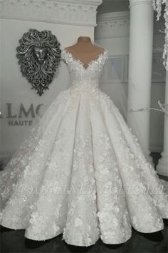 Gorgeous Ball Gown Wedding Dresses, Off-the-Shoulder Floral Beading Bridal Gowns, Crystal Wedding Dresses, Sheer Wedding Dress, Western Wedding Dresses, Princess Wedding Dresses, Perfect Wedding Dress, Bridal Dresses, Bridesmaid Dresses, Gown Wedding, Tulle Wedding