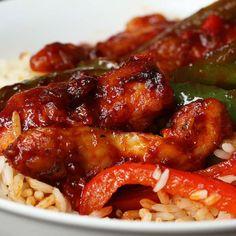 Weekday Meal-prep Chicken Teriyaki Stir-fry Recipe by Tasty