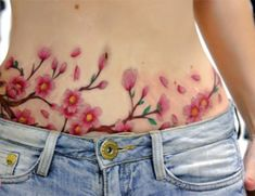 can you get an Epigastric hernia after tummy tuck Tummy Tuck Scar Tattoo, Tattoo Over Scar, Scars Tattoo Cover Up, Thigh Piece Tattoos, Chest Piece Tattoos, Pretty Tattoos, Beautiful Tattoos, Rose Tattoos, Body Art Tattoos