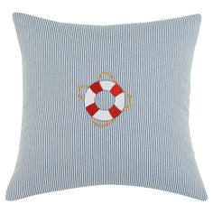 Nautical pillow; just too cute