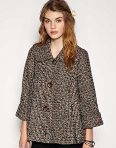 Abrigo de tweed estilo vintage de Darling - 33 euro, ASOS