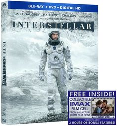 INTERSTELLAR makes its highly anticipated debut on Blu-ray Combo Pack, DVD and On Demand March 31, 2015, from Paramount Home Media Distribution.