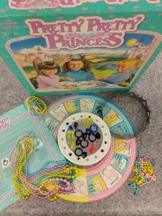 Vintage Pretty Pretty Princess Board Game 1990 WITH EXTRA PIECES Princess Games For Girls, Little Princess, Pretty Pretty Princess Game, Girl Boards, Vintage Board Games, Game Sales, Diy Doll, Vintage Advertisements, Game Design