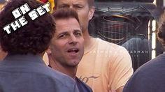 Zack Snyder, Director of Batman V. Superman final location scout for car...