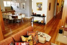 Our custom White Oak hardwood wide plank flooring is made in the USA and ships nationwide direct from our mill. We offer custom plank sizes, unfinished or prefinished. Sawmill direct wide plank floors since White Oak Barrels, Wood Floor Kitchen, White Oak Floors, Wide Plank Flooring, Red Oak, Hardwood, New Homes, Oil, House