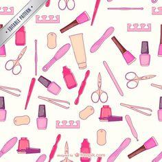Baixe Manicure E Pedicure Vector gratuitamente Nail Salon Decor, Nail Room, Hair Color For Women, Manicure Y Pedicure, Salon Design, Beauty Quotes, Nail Tech, Mary Kay, My Beauty