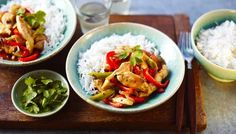 A popular and easy stir-fry: chicken and black bean sauce.
