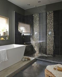 1000 images about salle de bains on pinterest merlin ps and murals - Receveur de douche a l italienne leroy merlin ...