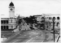 Flinders St,Townsville in northern Queensland in 1969.