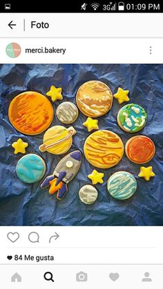 I'm making these soon!!  I just got a new rocket cookie cutter, for obvious reasons :)