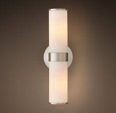 Sutton Double Sconce - hung horizontally