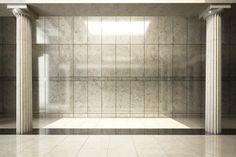 The interior desin of luxury empty room