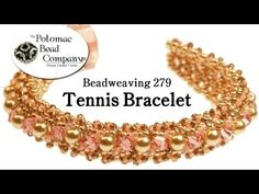 ▶ How to Make a Tennis Bracelet (Beadweaving 279).wmv - YouTube