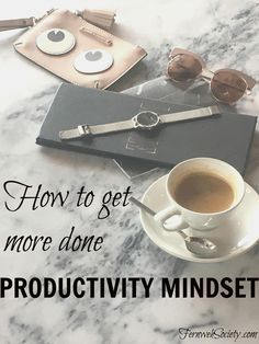 Time Audit - productivity mindset; how to get more done