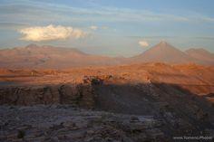 Coucher de soleil sur le volcan Licancabur - Chili