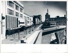Monroe Mall looking toward Ottawa Ave - 1981