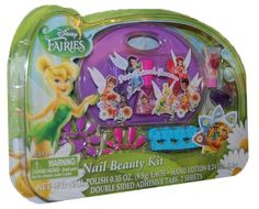 Disney Fairies Nail Beauty Kit 8 pieces ** This is an Amazon Affiliate link. Check this awesome product by going to the link at the image.