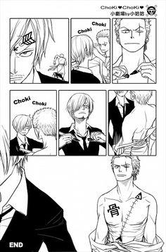 Zoro and Sanji #lmao #funny #one piece