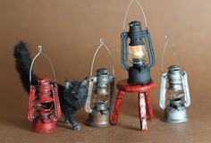 Hello…as promised a tutorial for the dollhouse miniature lantern. This turned out to be more involved then I thought and therefor took way more time to complete.. My hat is off to all the p…