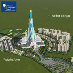 Majestic! Monumental! Glorious!  Help us in building this grand temple of Lord Krishna -