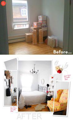 Ten of the best budget-friendly bedroom makeovers!