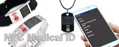 NFC RFID Bracelets and Dog Tags. Traveling abroad now you can have your medical records or the essential information needed. htttp://www.Tagalon.com