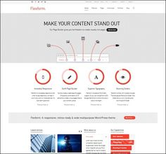 Best Responsive Business WordPress Themes – Want To Stand Out? Wordpress Template, Wordpress Theme, Bar Chart, Make It Yourself, Templates, Words, Business, Models, Stenciling