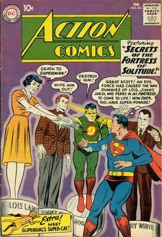 Action Comics #261 Superman Comic Cover Hi-res