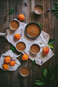 Salted Caramel & Apricot Pots de Creme | Adventures in Cooking