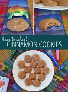 Cinnamon Cookies - a great lunch box treat.