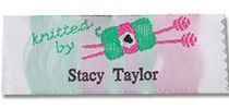 Personalized clothing labels...great gift idea for knitters. $16.00/20 labels