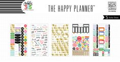 School/College Planner Stickers for The Happy Planner™ | me & my BIG ideas