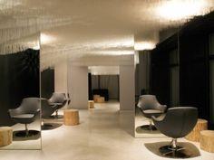 Boa Hairdresser Salon, Zurich...that ceiling!!