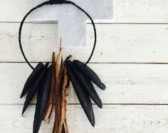 My small cuttlefish bone wall hanging decor available for purchase via Etsy. Black cuttlefish bones & locally sourced bark. Cute little styling element for your home!  https://www.etsy.com/au/listing/513773296/handmade-clay-bead-cuttlefish-tribal?ref=shop_home_feat_3