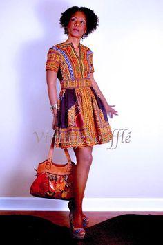 Dashiki dress #african style