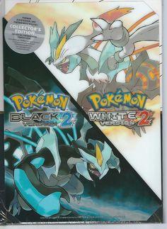 Pokemon Black Version 2 and Pokemon White Version 2 Collector's Ed. NEW