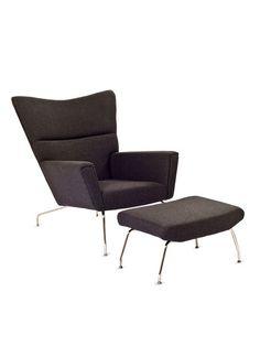 First Class Chair & Ottoman